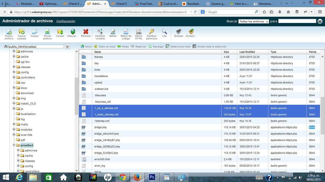 no se puede rastrear mi sitemap no se indexan mis paginas