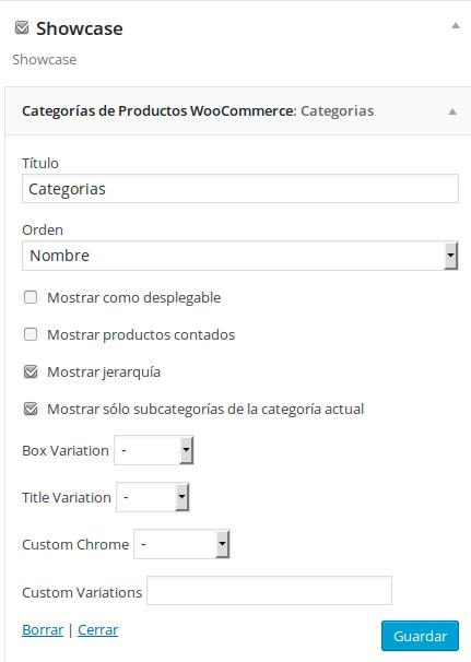 Poner el menu categorias como desplegable en el Tema Epimeteo