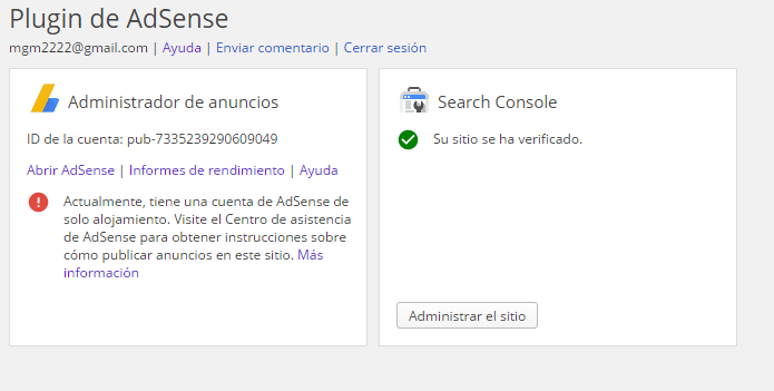 Google Adsense en Wordpress (1/2)