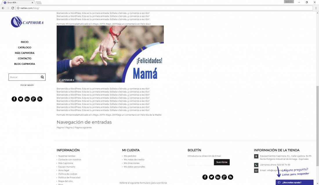 Compatibilidad Wordpress con el tema Elara