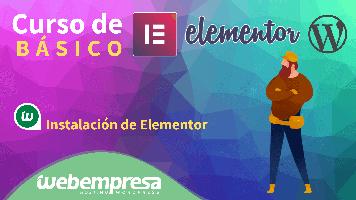 Curso de Elementor Básico - Instalación de Elementor