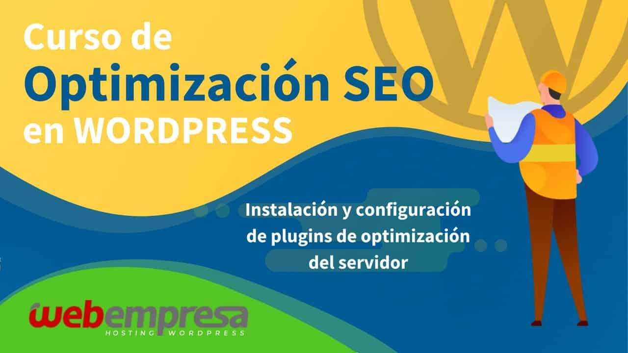 Curso de Optimización SEO en WordPress - Instalación y configuración de plugins de optimización del servidor