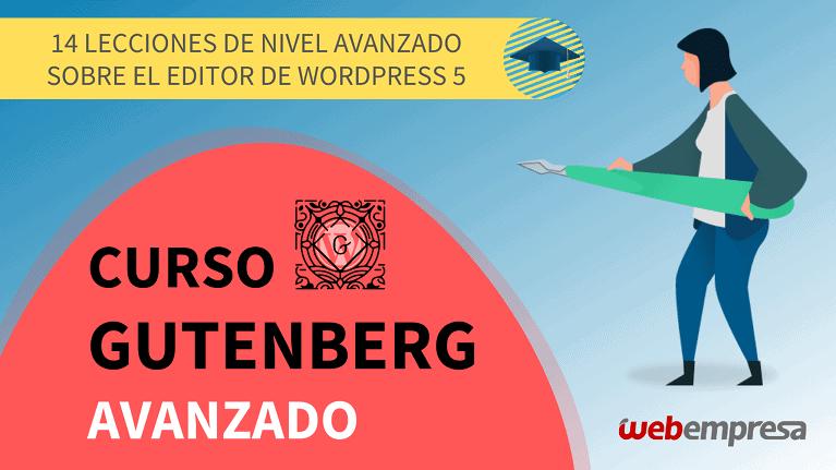 Webempresa University Curso Gutenberg Avanzado