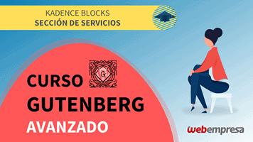 Curso Gutenberg Avanzado - Kadence Blocks - Sección de Servicios