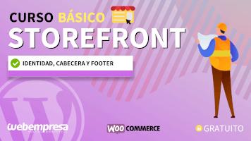 Curso de StoreFront Básico - Identidad, cabecera y footer