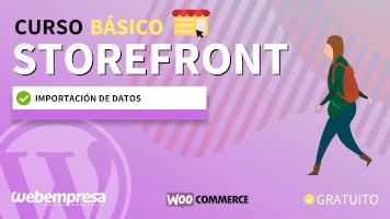 Curso de StoreFront Básico - Importación de datos