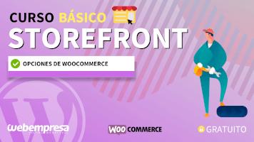 Curso de StoreFront Básico - Opciones de WooCommerce