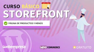 Curso de StoreFront Básico - Página de productos y menús