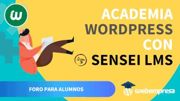 Crear Academia online con WordPress - Foro para Alumnos