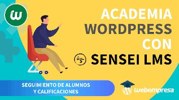 Crear Academia online con WordPress - Seguimiento de Alumnos y Calificaciones