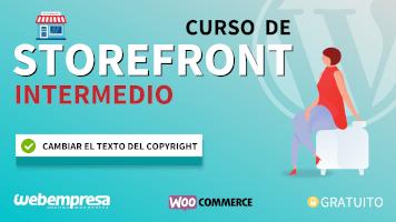 Curso de StoreFront Intermedio - Cambiar el texto del copyright
