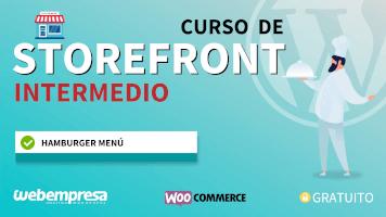 Curso de StoreFront Intermedio - Hamburger Menu