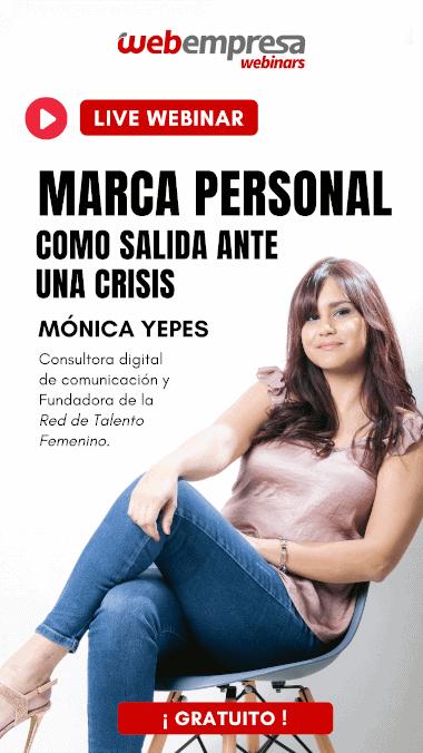 Marca Personal como salida ante una crisis - Mónica Yepes
