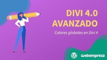 Curso de Divi 4 Avanzado - Colores globales en Divi 4