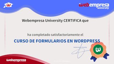 Curso de Formularios en WordPress