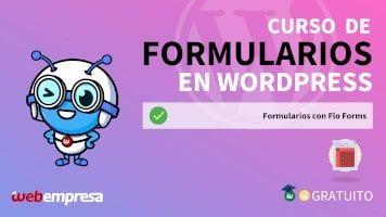 Curso de Formularios en WordPress - Formularios con Flo Forms