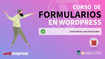 Curso de Formularios en WordPress - Formularios con Forminator
