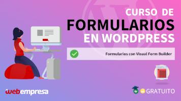 Curso de Formularios en WordPress - Formularios con Visual Form Builder