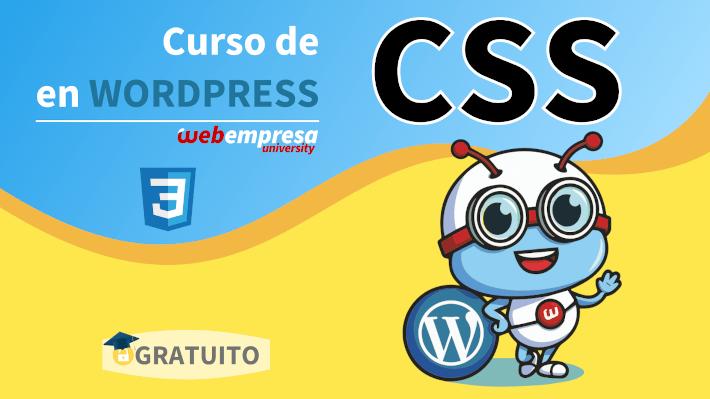 Webempresa University - Curso de CSS en WordPress