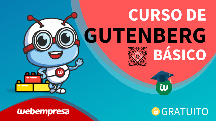 Webempresa University - Curso de Gutenberg básico