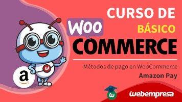 Curso de WooCommerce básico - Otros métodos de pago - Amazon Pay