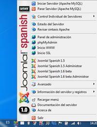 Joomla! Spanish Server 1.0