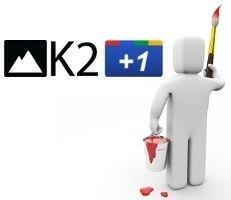 Insertar el botón de Google +1 en el título de artículos de K2