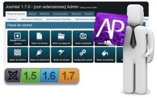 AdminPraise Lite, una plantilla ágil para el backend de Joomla! 1.5, 1.6 y 1.7