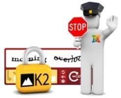 spam en el gestor nativo de comentarios de K2