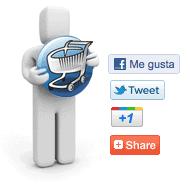 Redes sociales en detalle de productos VirtueMart