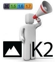 K2 para Joomla! 1.5 y 1.7