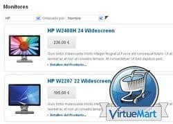 Filtrar por fabricante categoría de productos en Virtuemart