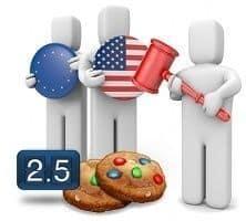 Gestionando las cookies en Joomla! para cumplir la Ley de Regulación USA y la Directiva Europea 2009-136-CE