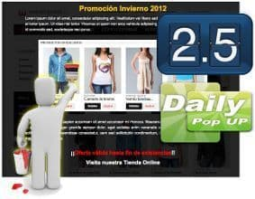 jQuery Daily PopUP