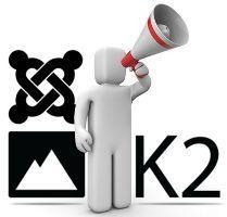 Disponible K2 v2.6.1 para Joomla! 1.5, 2.5 y 3.0