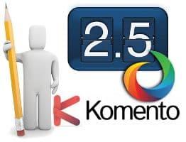 Gestionar comentarios en Joomla! 2.5 con Komento