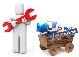 Redes sociales en una barra de herramientas para Joomla! 2.5 y Joomla! 3.0