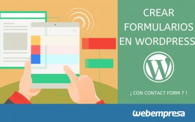 Cómo crear formularios con Contact Form 7