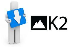 Registrarse para descargar ficheros en k2