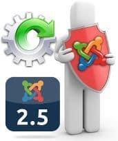 Actualizar Joomla 2.5 a la última versión estable manual o automáticamente