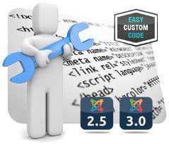 Easy Custom Code