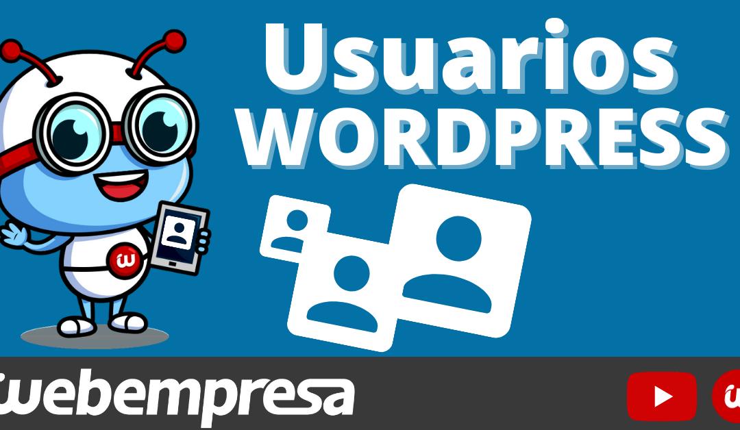 Usuarios en WordPress