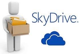 Adjuntar archivos de Word, Excel, PowerPoint mediante el servicio de alojamiento en línea SkyDrive