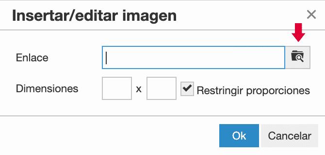 inspeccionar imagen Roundcube