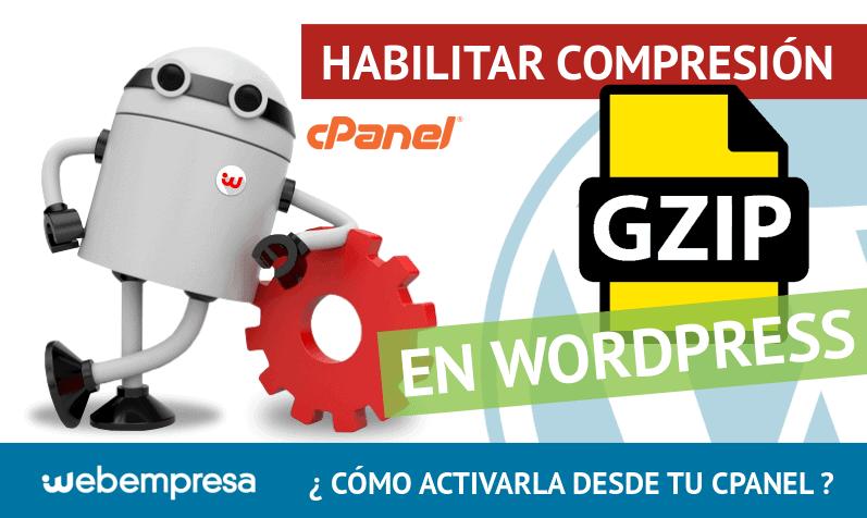 compresión GZIP en WordPress