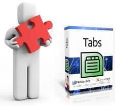 Insertar un tab o efecto tabulación en un articulo de Joomla! 2.5 o Joomla! 3.0