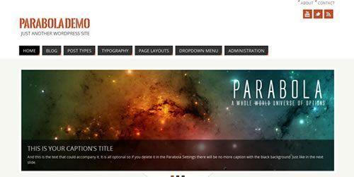 theme parabola ago2013
