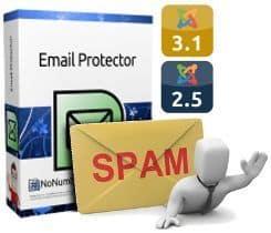 Protege tus correos@electrónicos en Joomla 2.5 y 3.1 con Email Protector