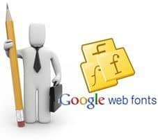 Fuentes Google en WordPress