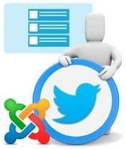 """Sustituye extensiones para Joomla de Twitter por el widget """"oficial"""" y olvídate de los cambios en su API"""